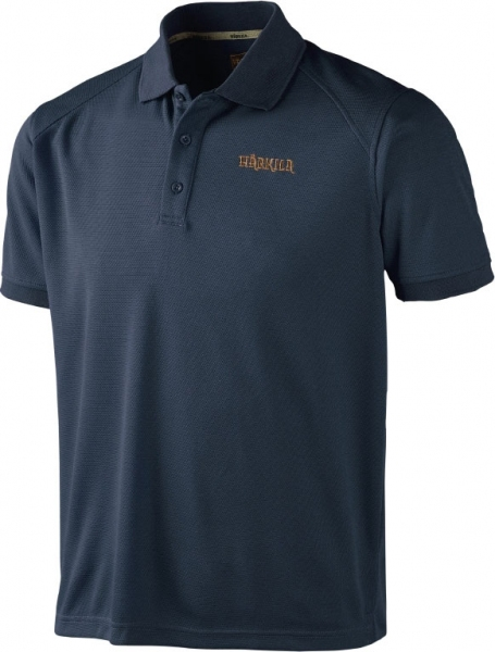 Gerit Insignia Blue - techniczna koszulka polo