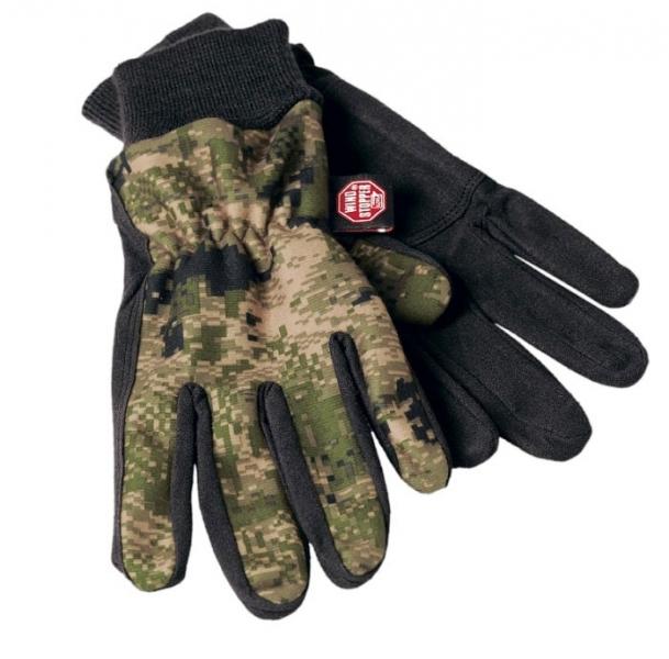 Rękawice polarowe Q kamuflaż Optifade™ membrana Windstopper®