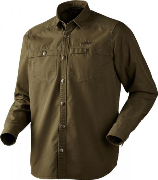Pro Hunter green - koszula z grubej bawełny ROZMIARY do 4XL!