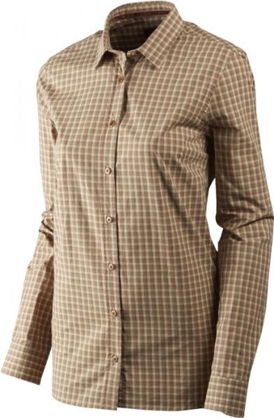 Selja Lady rose check - letnia, cienka koszula damska 100% bawełna Harkila