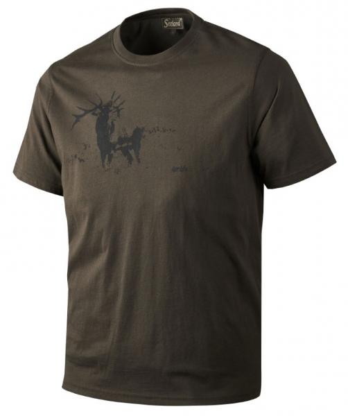 Printed  t-shirt - koszulka bawełniana Seeland ROZM 3XL