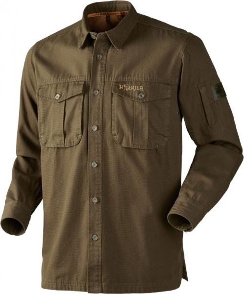 PH Range Dark Olive - koszula z grubej bawełny do 4XL