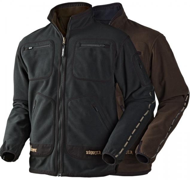 Kamko black/brown - dwustronny polar Windstopper®