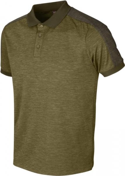 Harkila Tech Polo shirt dark olive / willow green