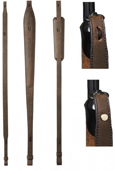 Pas myśliwski do broni śrutowej i kulowej skóra 3 rodzaje