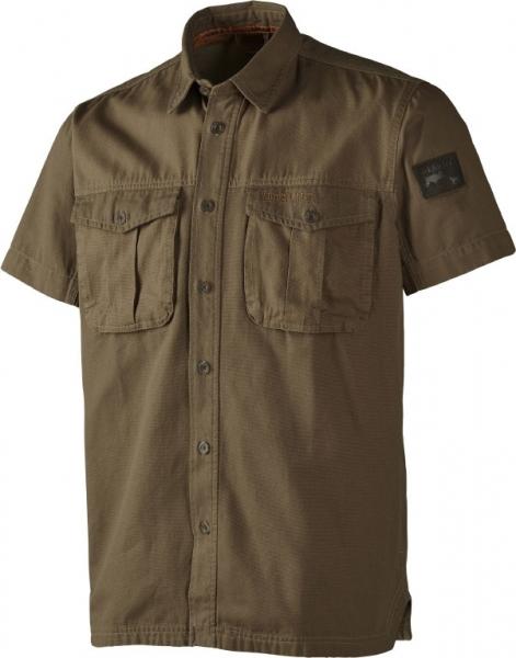 Letnia koszula z krótkim rękawem PH Range Dark Olive do 2XL