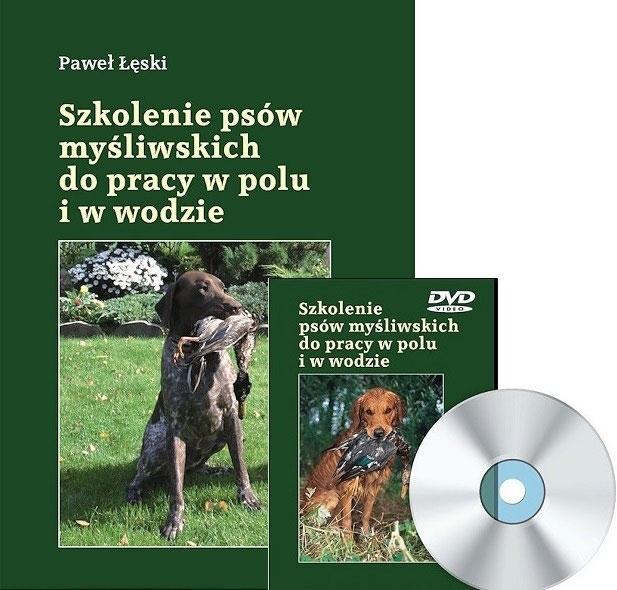 Książka Szkolenie psów myśliwskich do pracy w polu i w wodzie + DVD P.Łęski
