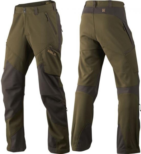 Lagan - softshellowe lekkie, elastyczne spodnie letnie
