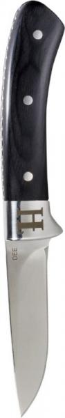 Dee - Nóż ze stałą klingą ostrze 9 cm