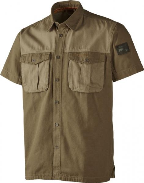 PH Range Sand krótki rękaw - koszula z grubej bawełny DO 3XL!