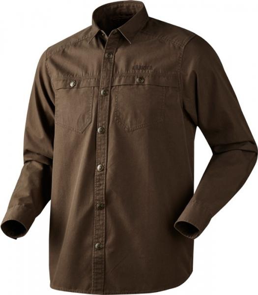 Pro Hunter brown - koszula z grubej bawełny ROZMIARY do 4XL!