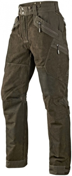 Skórzane spodnie Pro Trek z wstawkami z cordury TYLKO ROZMIAR 50,58