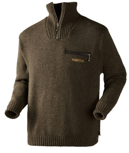 Sweter Annaboda Jersey demitasse brown Windstopper®