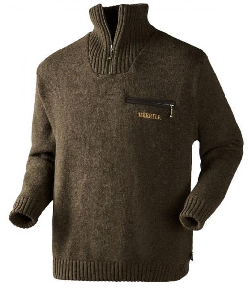 Sweter Annaboda Jersey demitasse brown Windstopper®