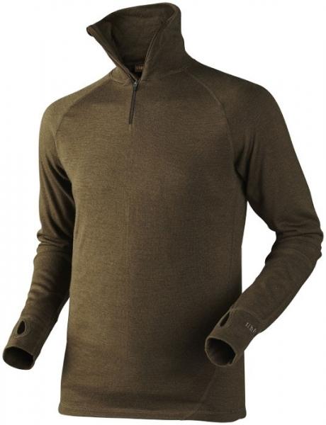 Coldfront zip-neck  - ciepła koszulka z wełny z merynosa rozmiary do 4XL