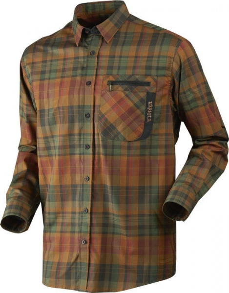 Koszula bawełniana Newton spice check