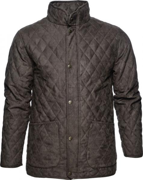 Woodcock Quilt brown - lekka pikowana kurtka