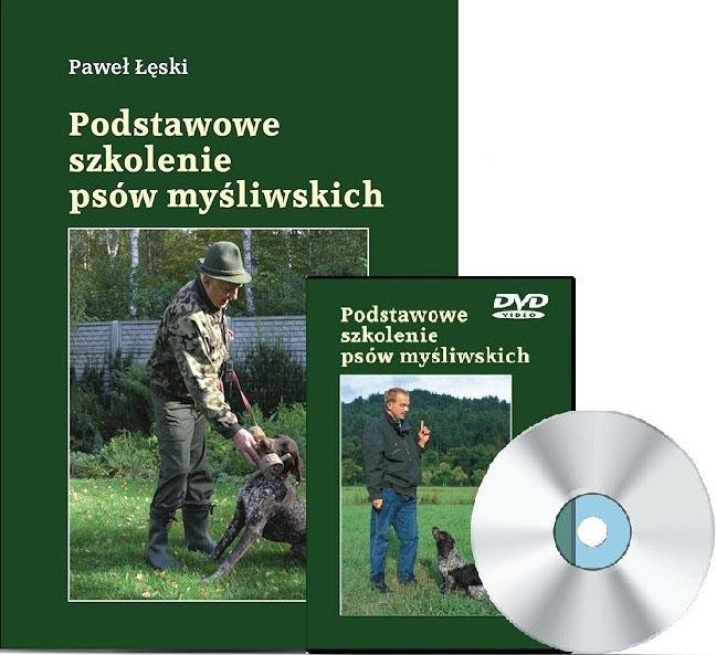 Książka Podstawowe szkolenie psów myśliwskich + DVD P.Łęski