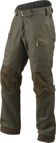 Zimowe wełniane spodnie Metso Insulated ze skórzanymi wstawkami