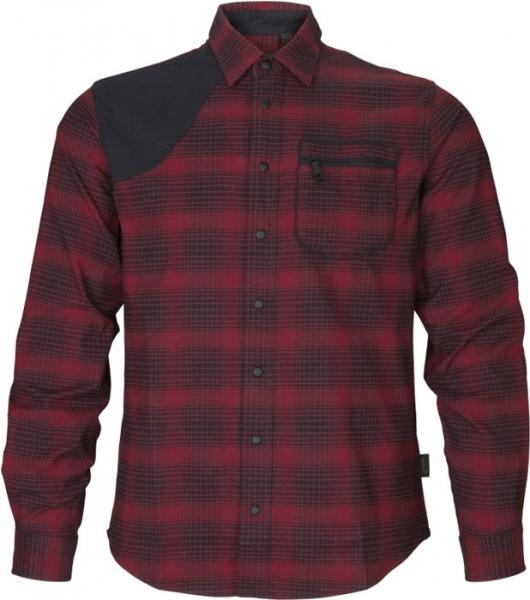 Terrain red check - koszula myśliwska  Seeland