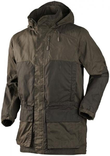 Wiosenno-letnia kurtka z kapturem Mountain Trek Long woskowany materiał