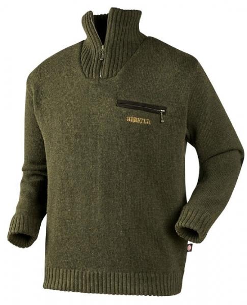 Sweter Annaboda Jersey forest green Windstopper®