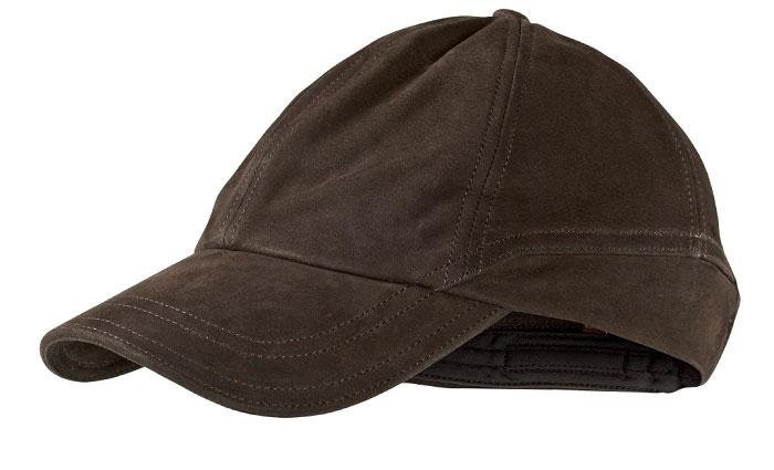 Ultimate Leather - czapka ze skóry nubukowej