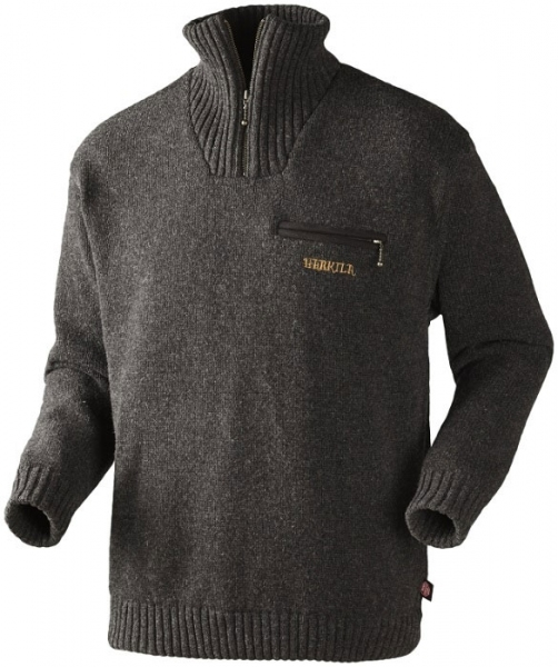 Sweter Annaboda Jersey flint grey Windstopper®