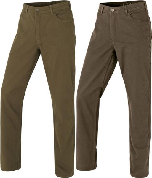 Hallberg 5 pocket - spodnie na co dzień i w łowisko dwa kolory! Harkila