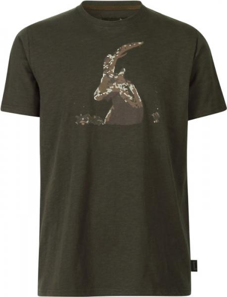 Flint T-shirt kolor brązowy 100% bawełna Seeland