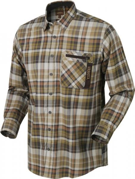 Newton tapenade check - koszula z długim rękawem 100% bawełna