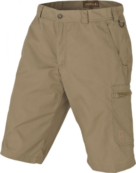 Alvis - Shorty light khaki woskowane Harkila