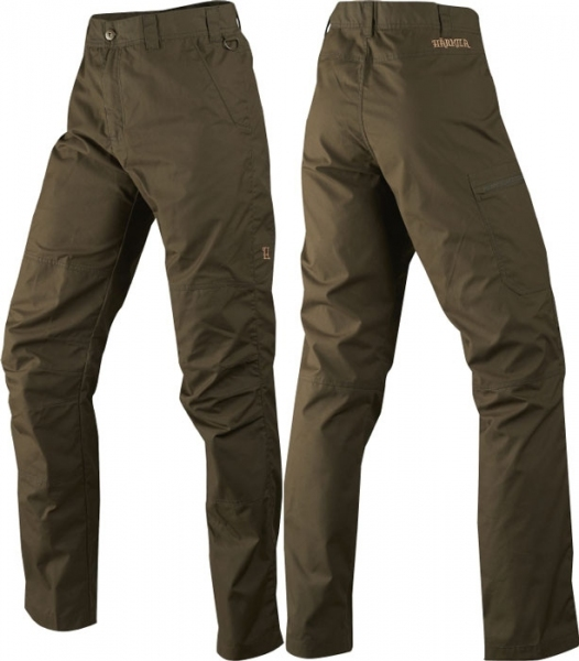 Alvis - lekko woskowane spodnie willow green Harkila