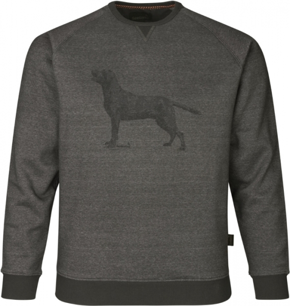 Key-Point sweatshirt grey melange ciepła bluza