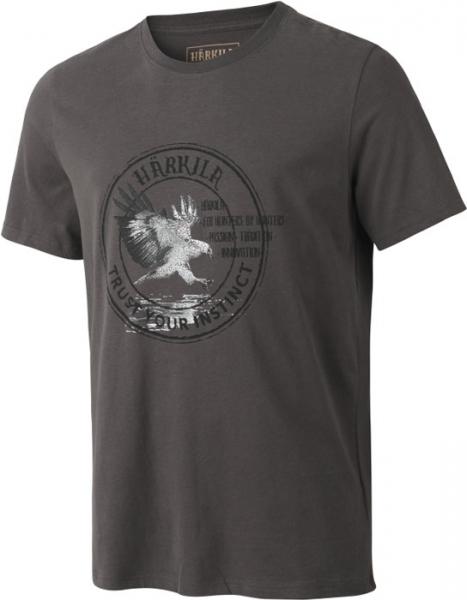 Wildlife mulch grey - koszulka Eagle 100% bawełna