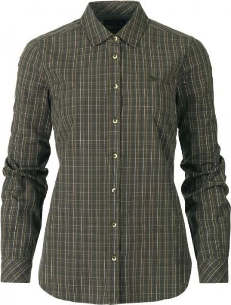 Claire Lady - koszula dla Dian olive night 100% bawełna Seeland