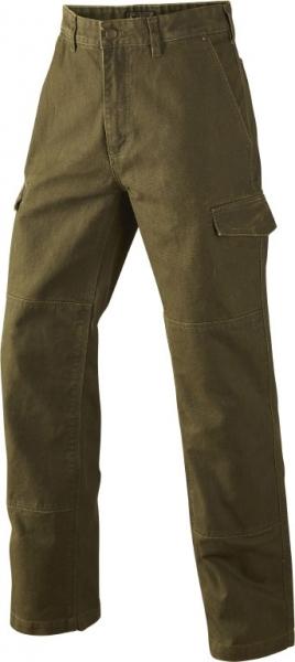 Flint - spodnie myśliwskie z trwałego bawełnianego płótna mud green Seeland