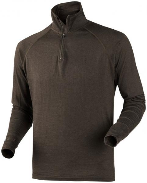 All Season zip-neck - koszulka z wełny z merynosa rozmiary do 4XL