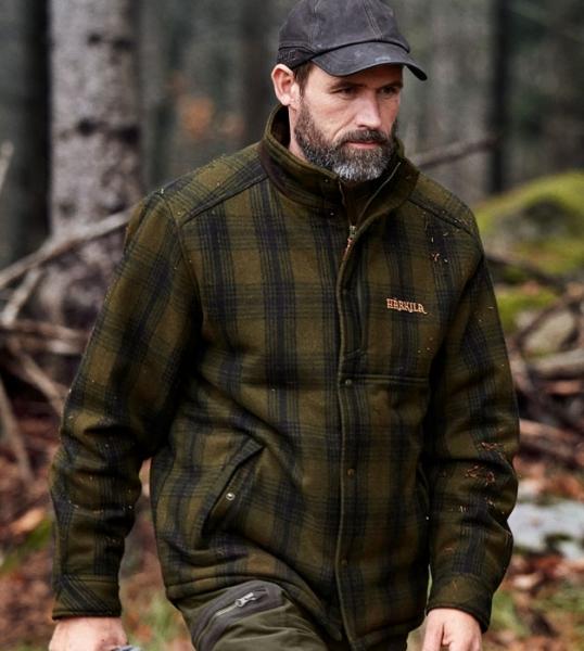 Fjalar - jesienno - zimowa klasyczna kurtka z wysokim kołnierzem