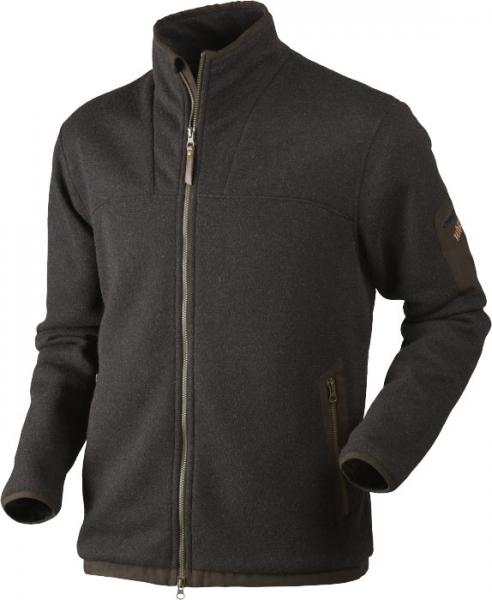 Norja HSP® shadow brown - ciepły sweter z lekkiej wełny Windstopper HSP®