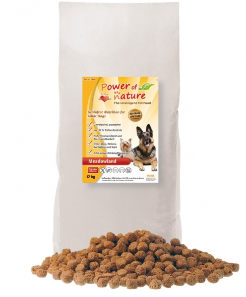 Power of Nature - Dog Meadowland 12kg.