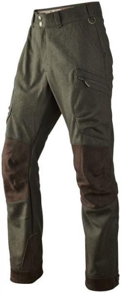 Całoroczne wełniane spodnie Metso ze skórzanymi wstawkami