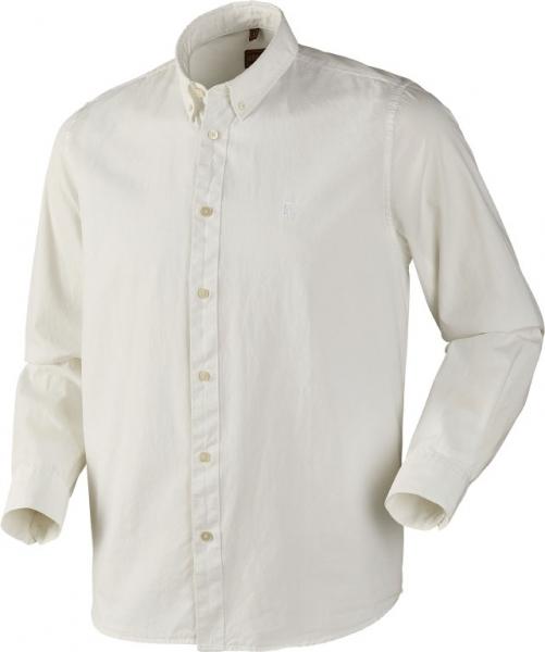 Koszula bawełniana Jomsborg biała ROZMIARY do 3XL