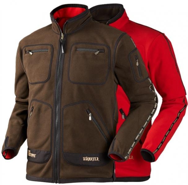 Kamko red/brown - dwustronny polar Windstopper®