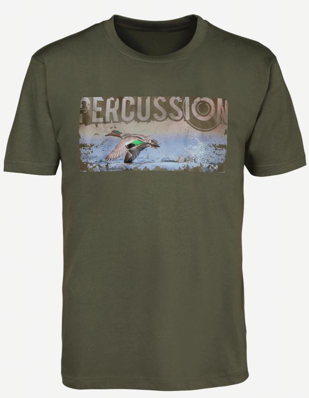 Percussion Duck - bawełniana koszulka z kaczką