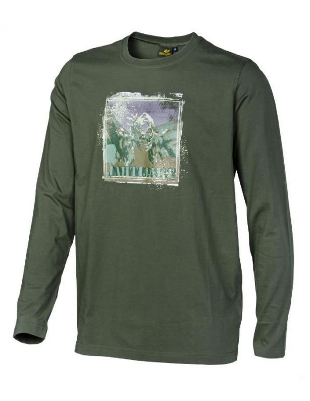 Hjort - bawełniana koszulka długi rękaw ROZMIARY L