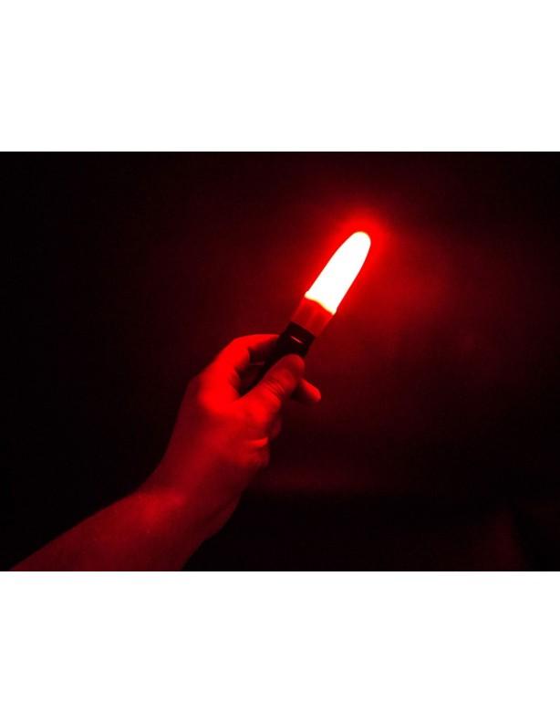 Dyfuzor czerwony Fenix do latarek serii TK