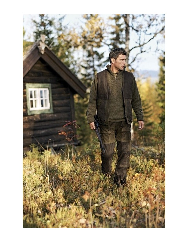 Angus - zimowe spodnie ze skóry