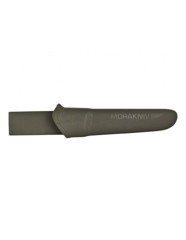 Nóż Mora Companion MG oliwkowy - stal węglowa