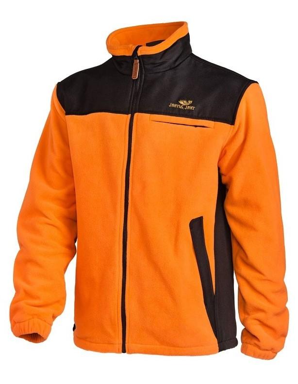 Posio orange - kurtka polarowa wodo- i wiatroszczelna